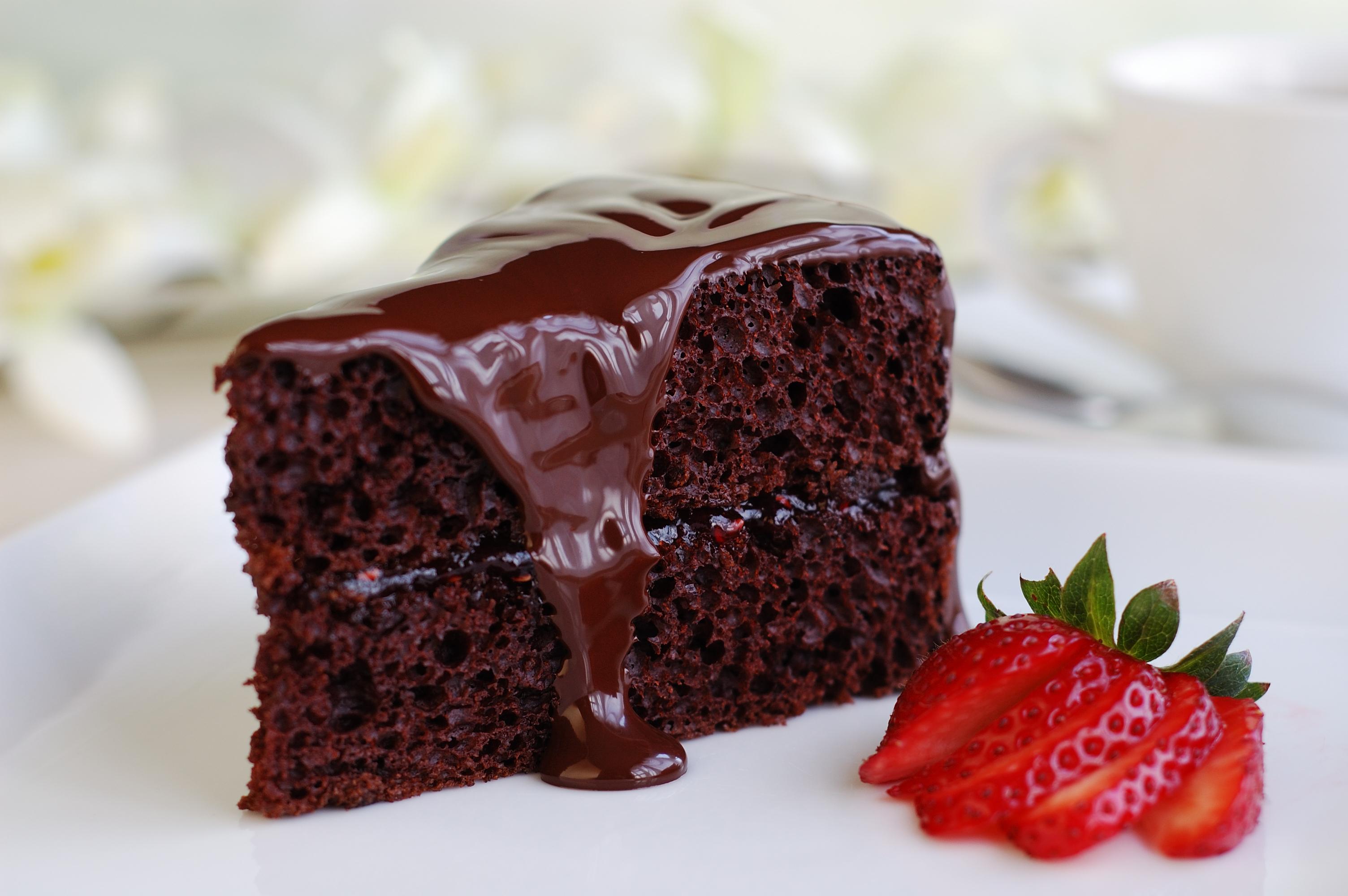 przekąski z czekoladą
